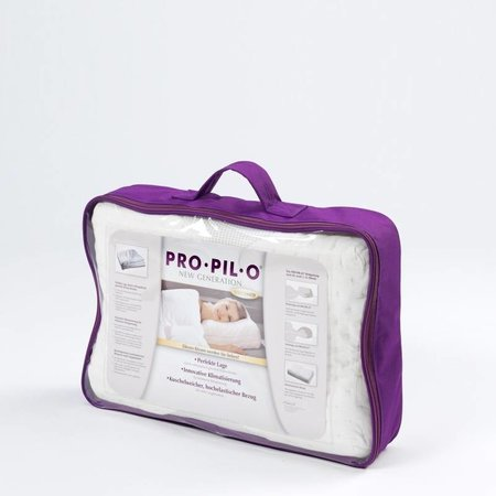 Pro-Pil-O Latex hoofdkussen instelbare hoogte