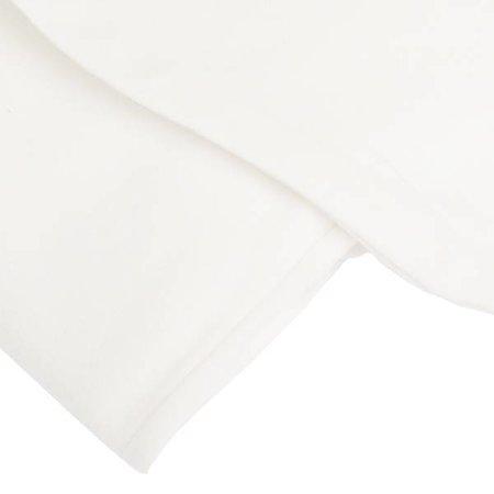 Fossflakes Sloop Comfort-U Junior bodykussen wit katoensatijn