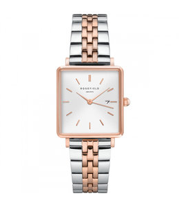Rosefield The Boxy White Sunray Silver Rosegold - QVSRD-Q014