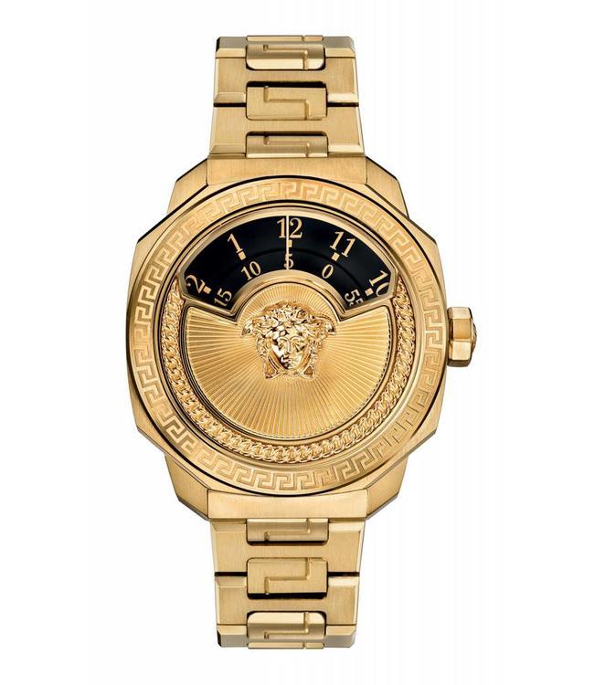 Versace Damen Dylos Automatic Ltd Ed, Schwarz