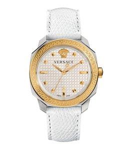 Versace Damen Dylos Lady, Weiß und Gold