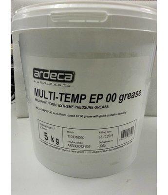 Multi-Temp EP 00 *5 kilo smeervet