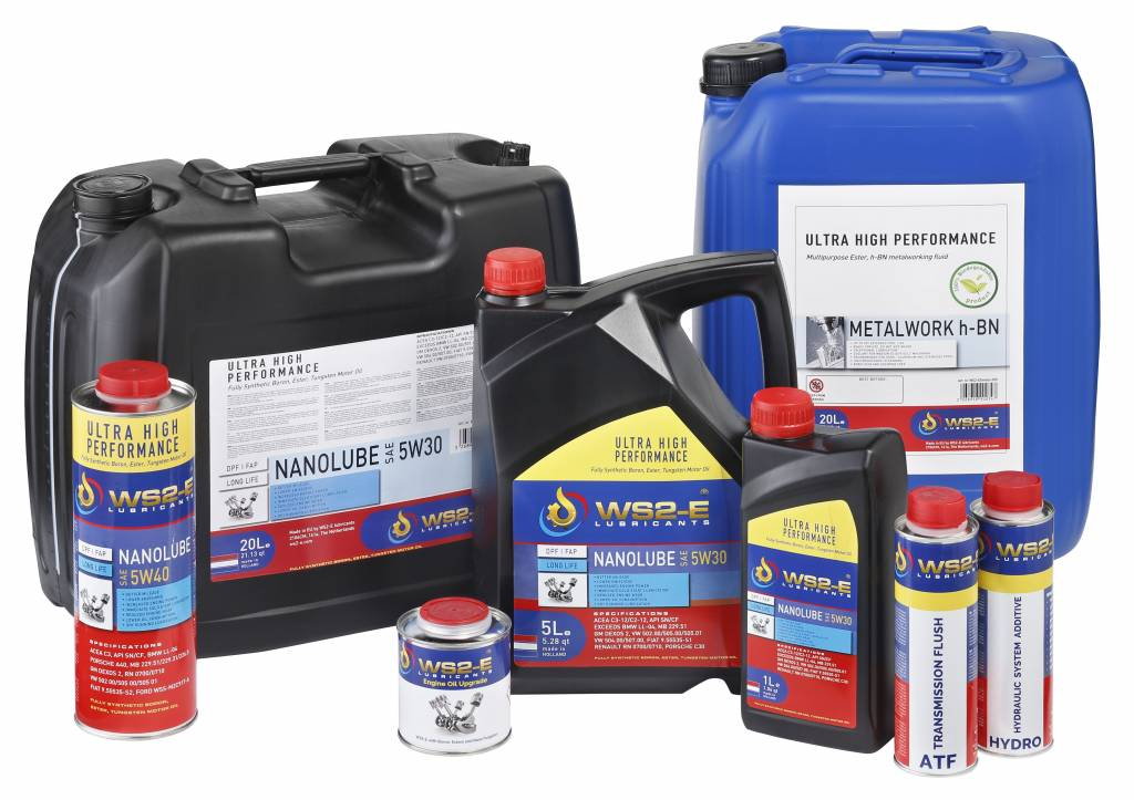 WS2-E Nanolube 5W40 *1 liter motorolie