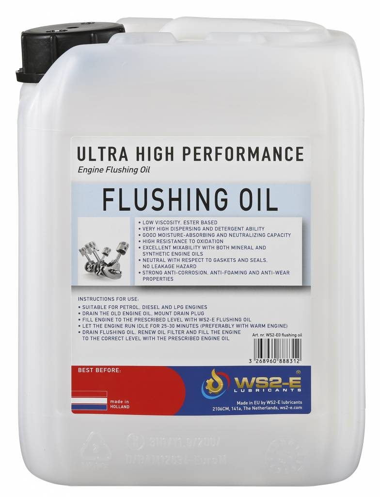 WS2-E Engine Flushing Oil *5 liter