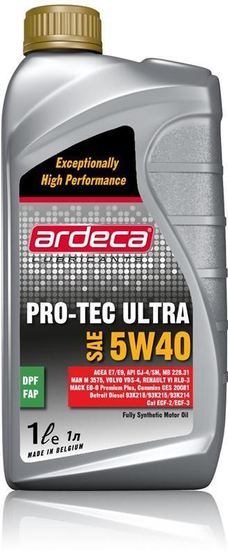 Pro-Tec Ultra 5W40 *1 liter motorolie