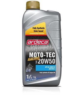 Moto-Tec Racing 20W50 *1 liter ester motorfietsolie