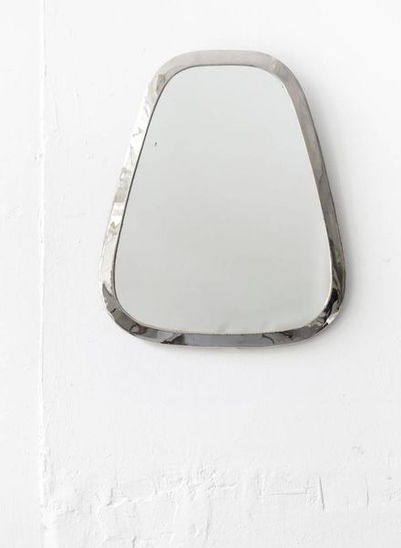 Silver Cone Mirror from Morocco