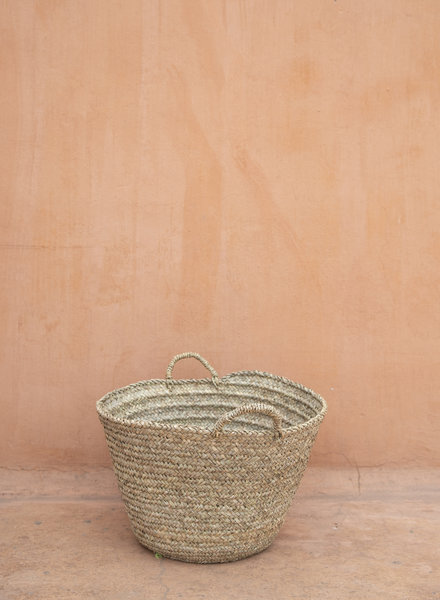 Handwoven straw bag - M
