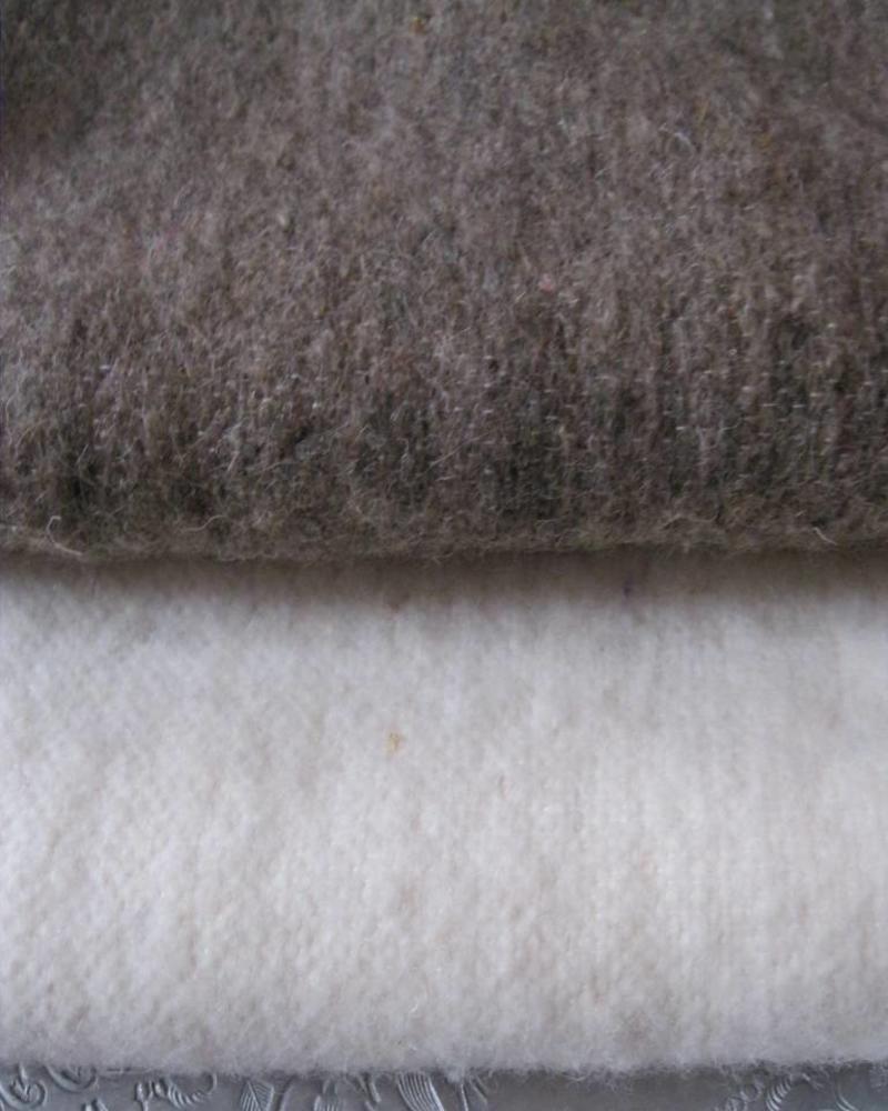 PRE ORDER wool pompom berber blanket