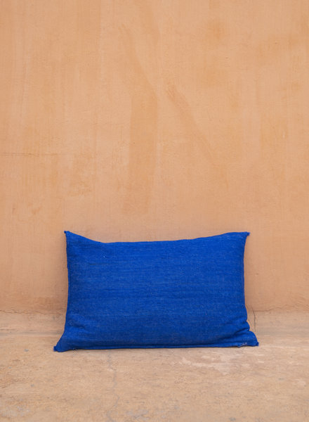 Handwoven pillow - wool L