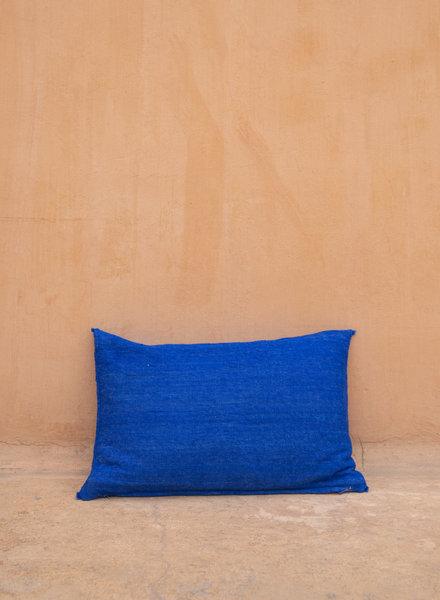 Handwoven pillow - wool L