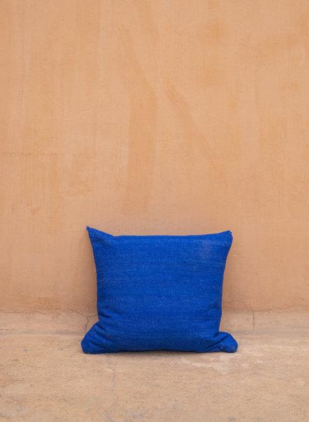 Pillow blue wool - M