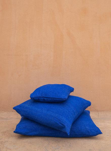 Blue pillow wool - S
