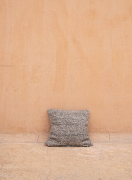 Handwoven pillow - wool S