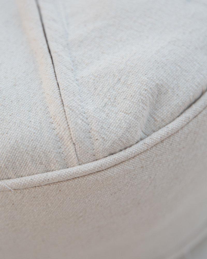 MoiTu yoga meditation pillow off white