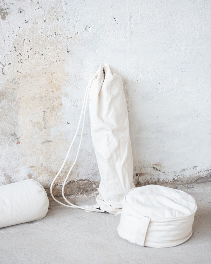 MoiTu  yoga bag off white