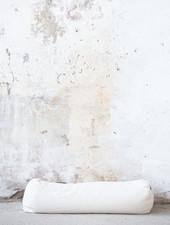 MoiTu yoga bolster off white cotton