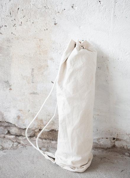 MoiTu yoga bag off white cotton