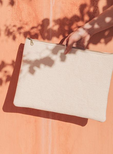 MoiTu Moi-tu - laptop sleeve off white