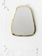 Gold Cone Mirror from Morocco