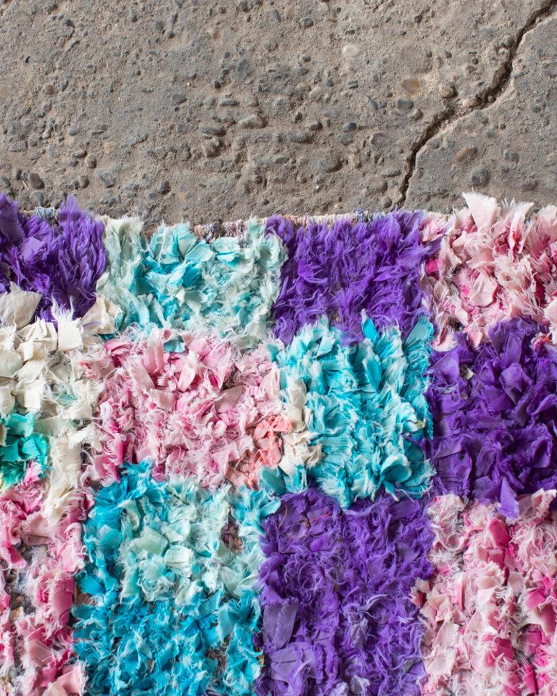 Boucherouite rug 132
