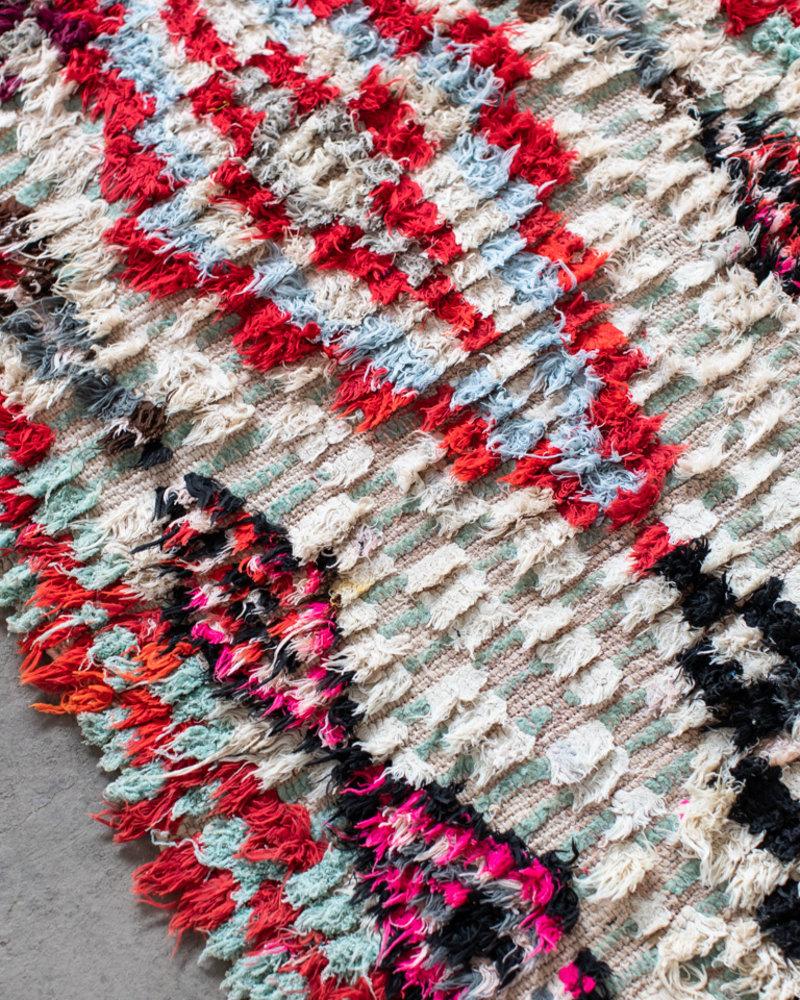 Boucherouite vloerkleed 139
