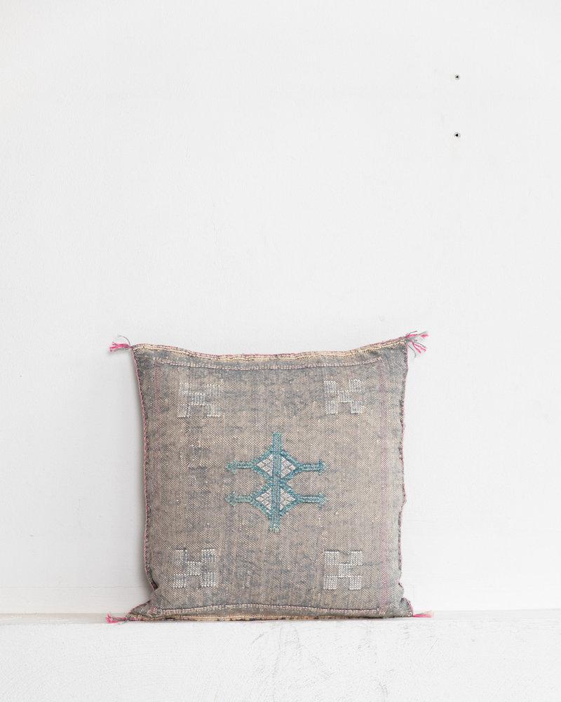 Vegan silk cactus pillow 171