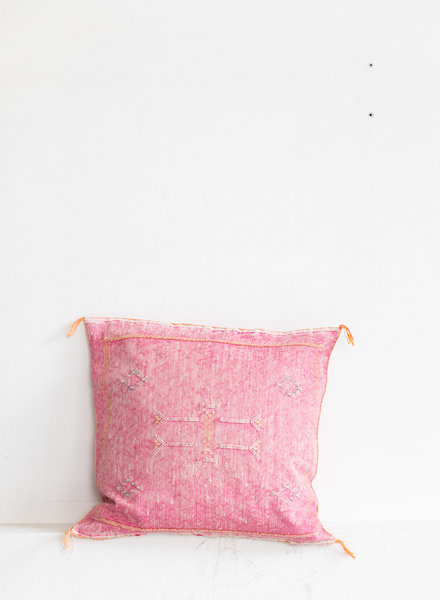 Vegan silk cactus pillow 173