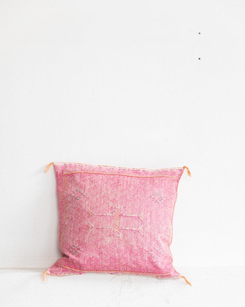 Vegan silk cactus pillow 173