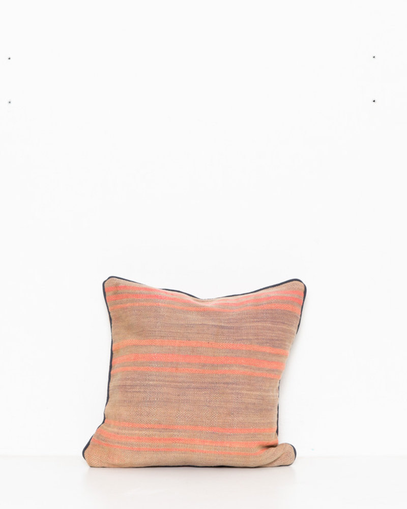 Authentic striped Berber pillow from Morocco 269