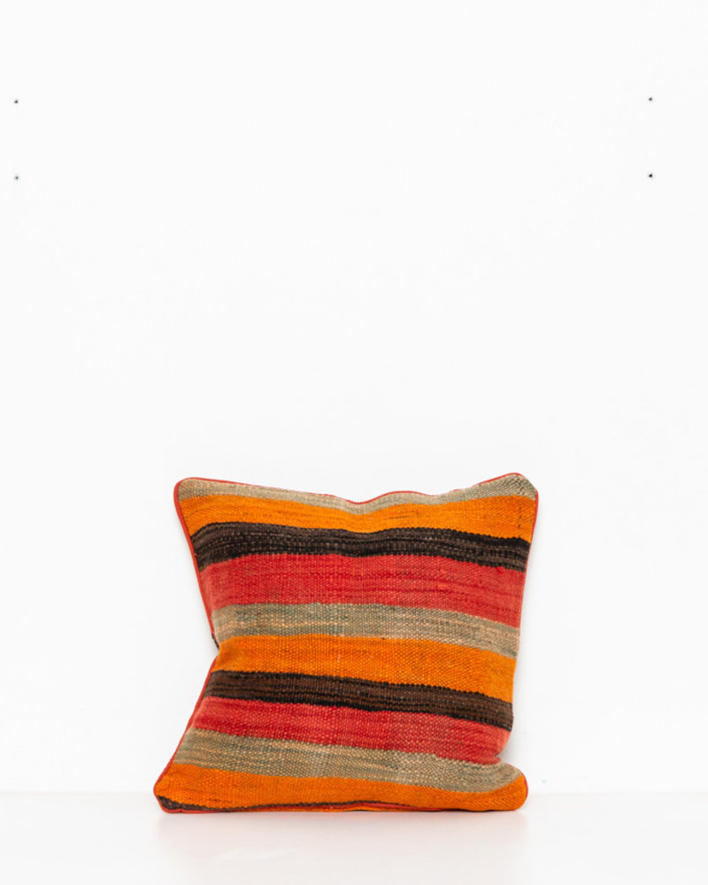 Authentic striped Berber pillow from Morocco 270
