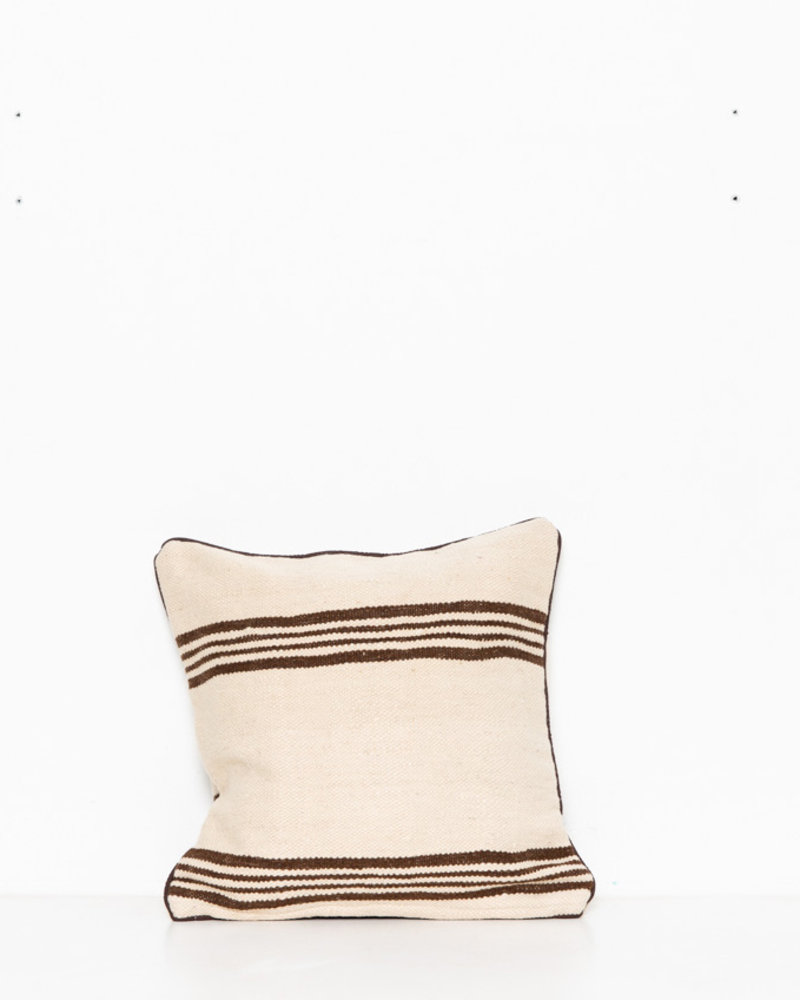 Authentic striped Berber pillow from Morocco 273