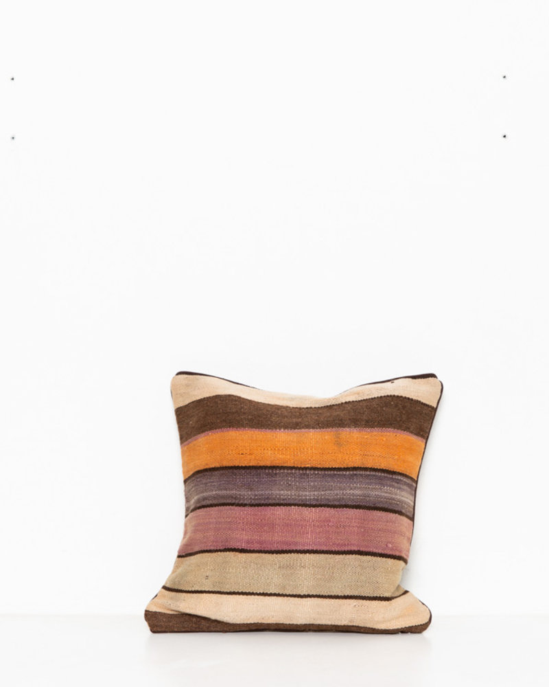 Authentic striped Berber pillow from Morocco 274