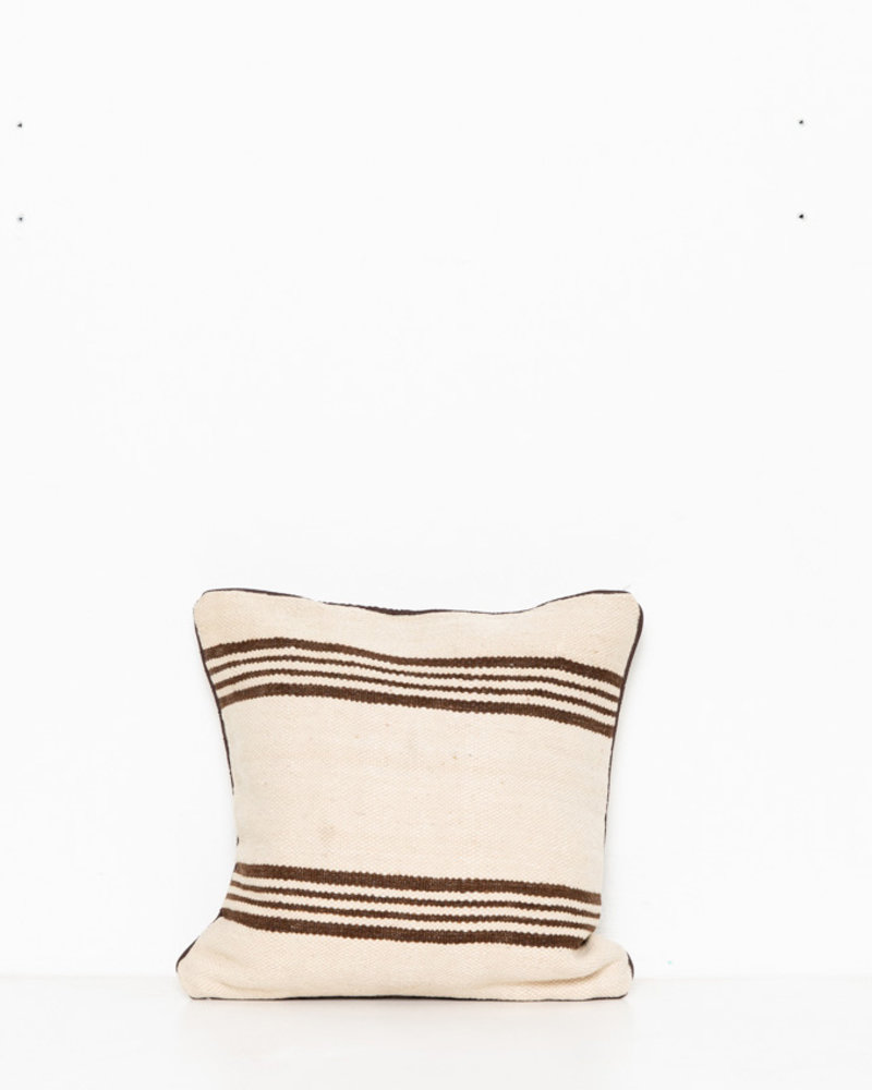 Authentic striped Berber pillow from Morocco 276