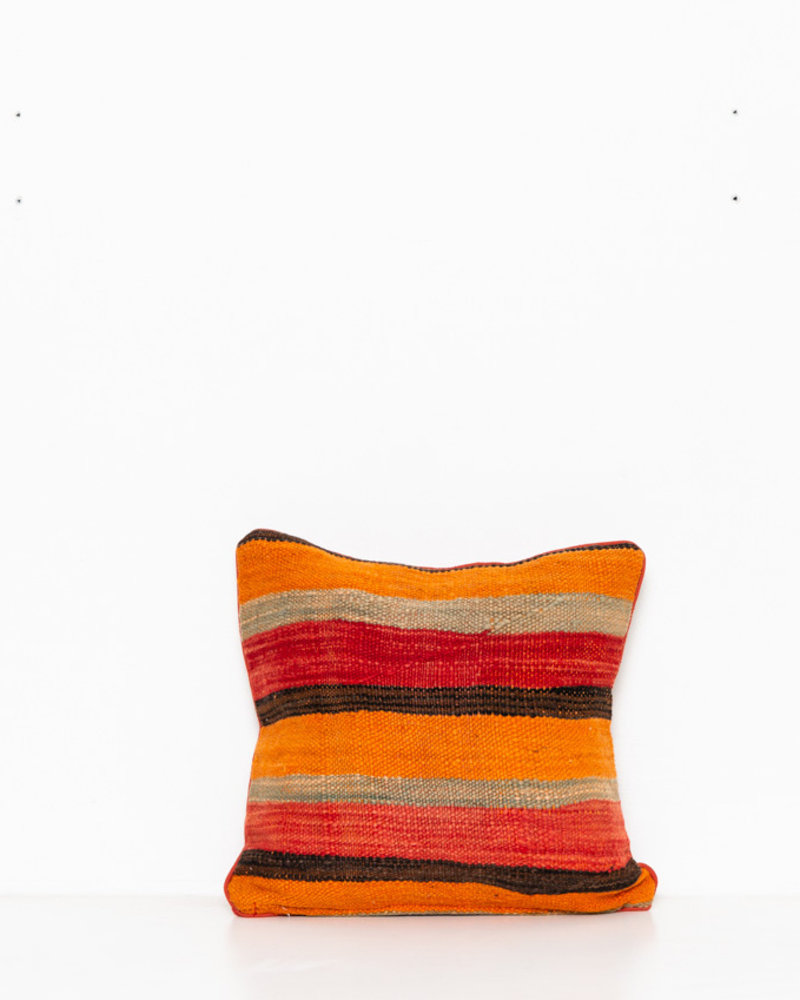 Authentic striped Berber pillow from Morocco 278