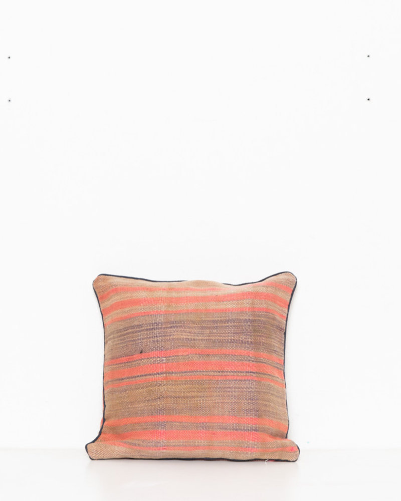 Authentic striped Berber pillow from Morocco 279