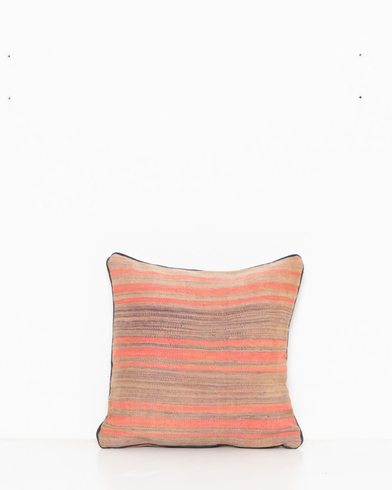 Authentic striped Berber pillow from Morocco 283
