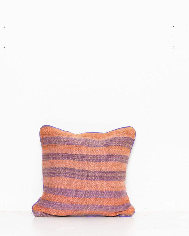 Authentic striped Berber pillow from Morocco 285