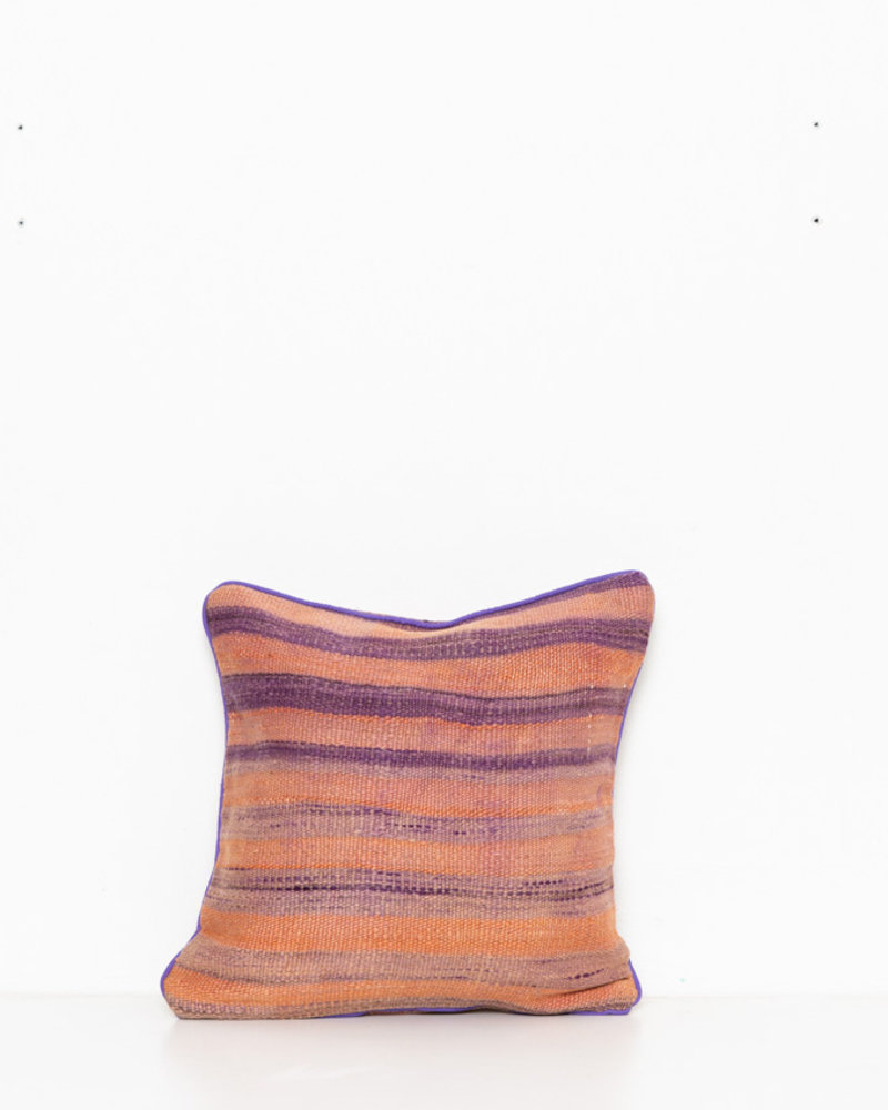 Authentic striped Berber pillow from Morocco 289