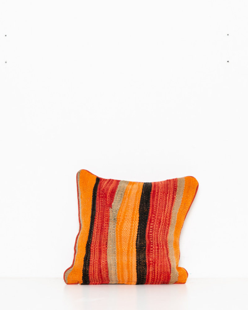 Authentic striped Berber pillow from Morocco 291