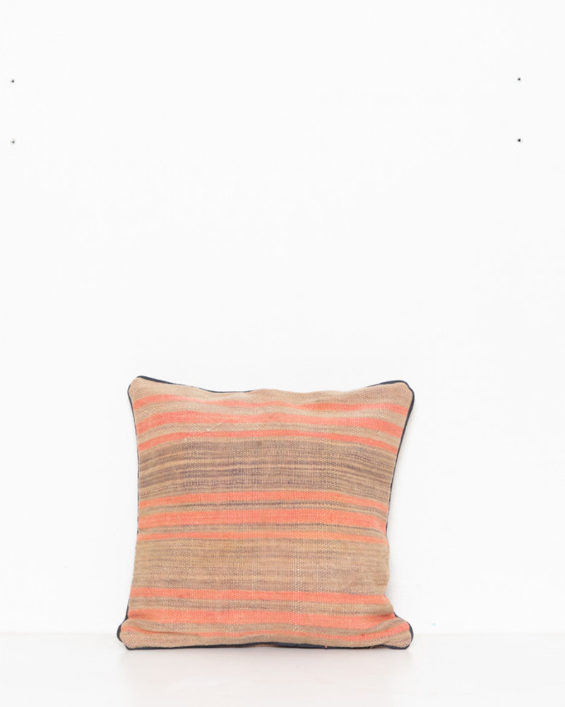 Authentic striped Berber pillow from Morocco 294
