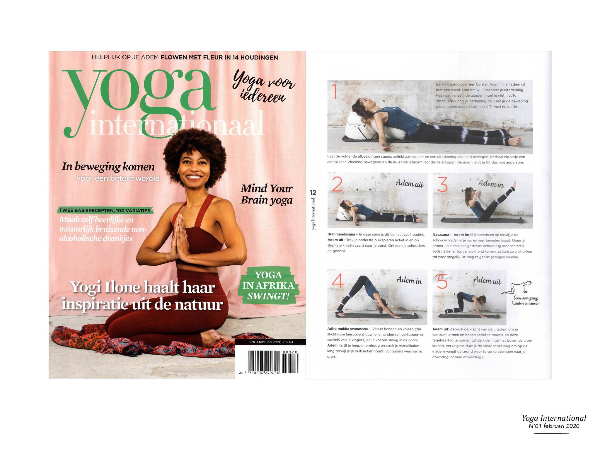 The Souks - publicatie Yoga international