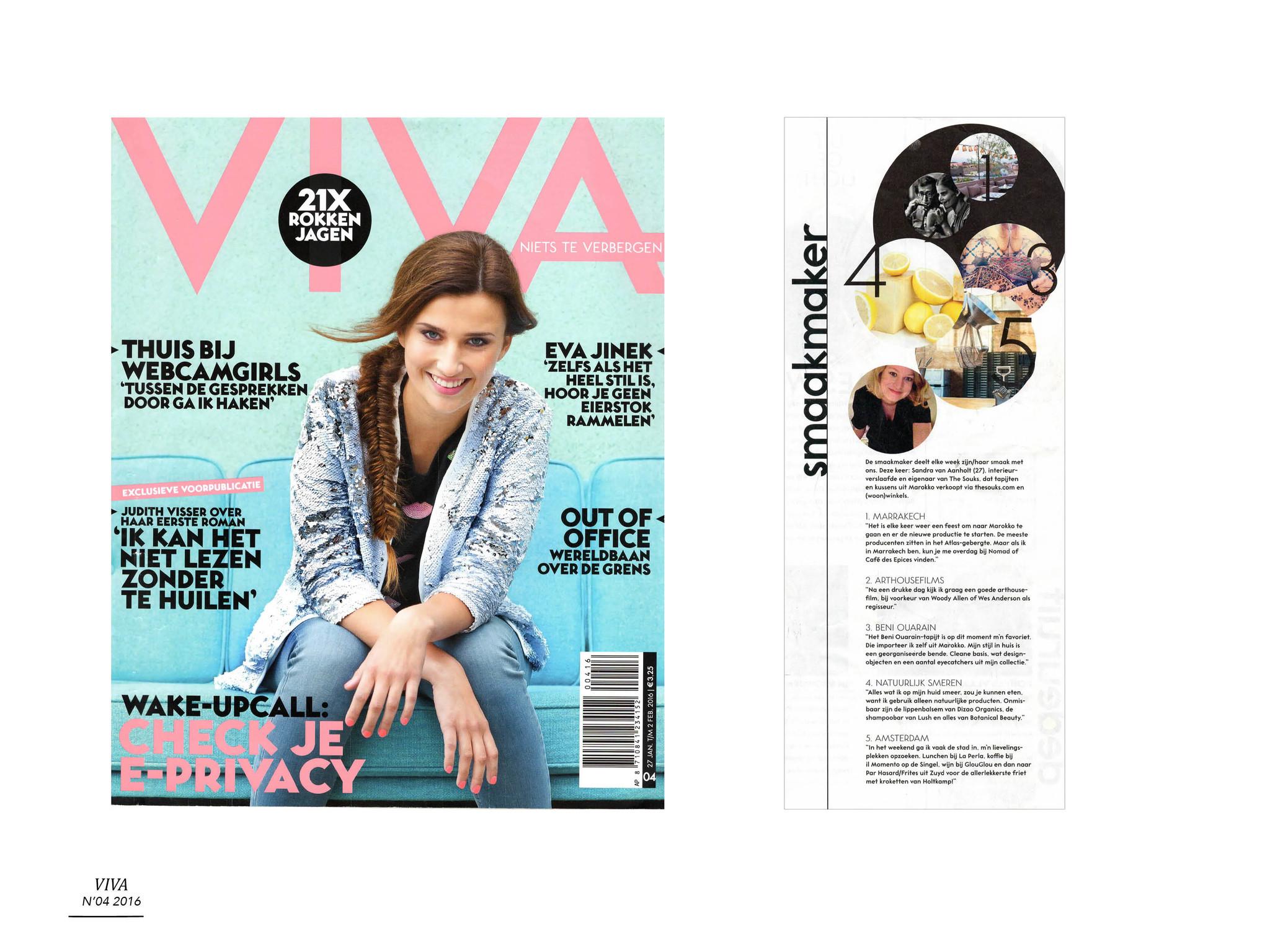 The Souks - publicatie Viva 2