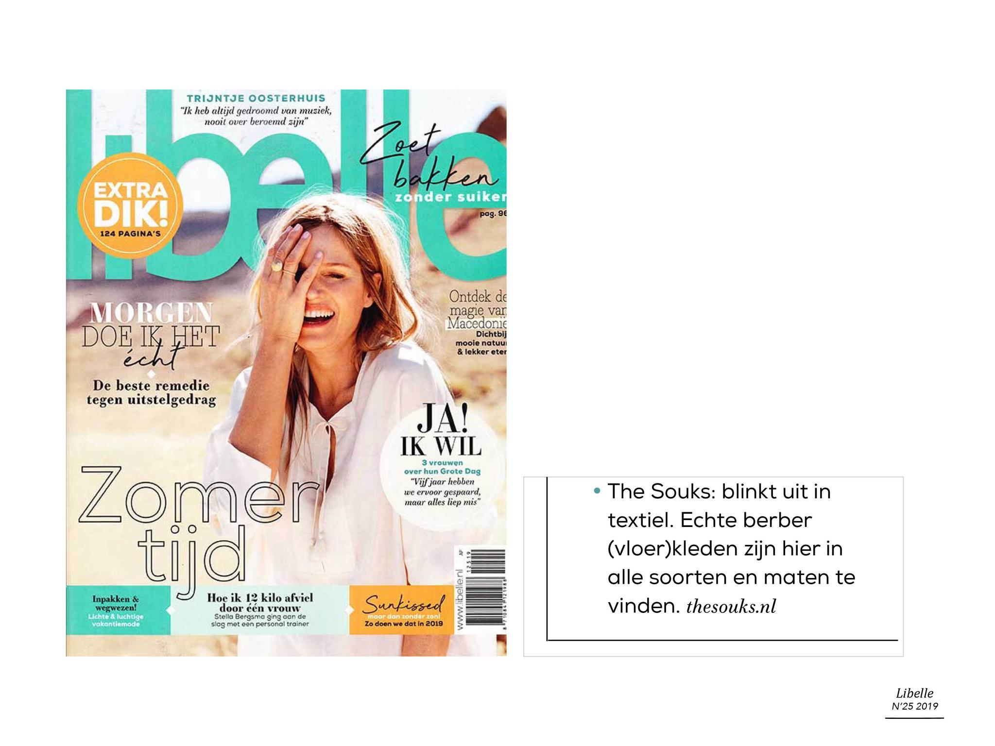 The Souks - publicatie Libelle