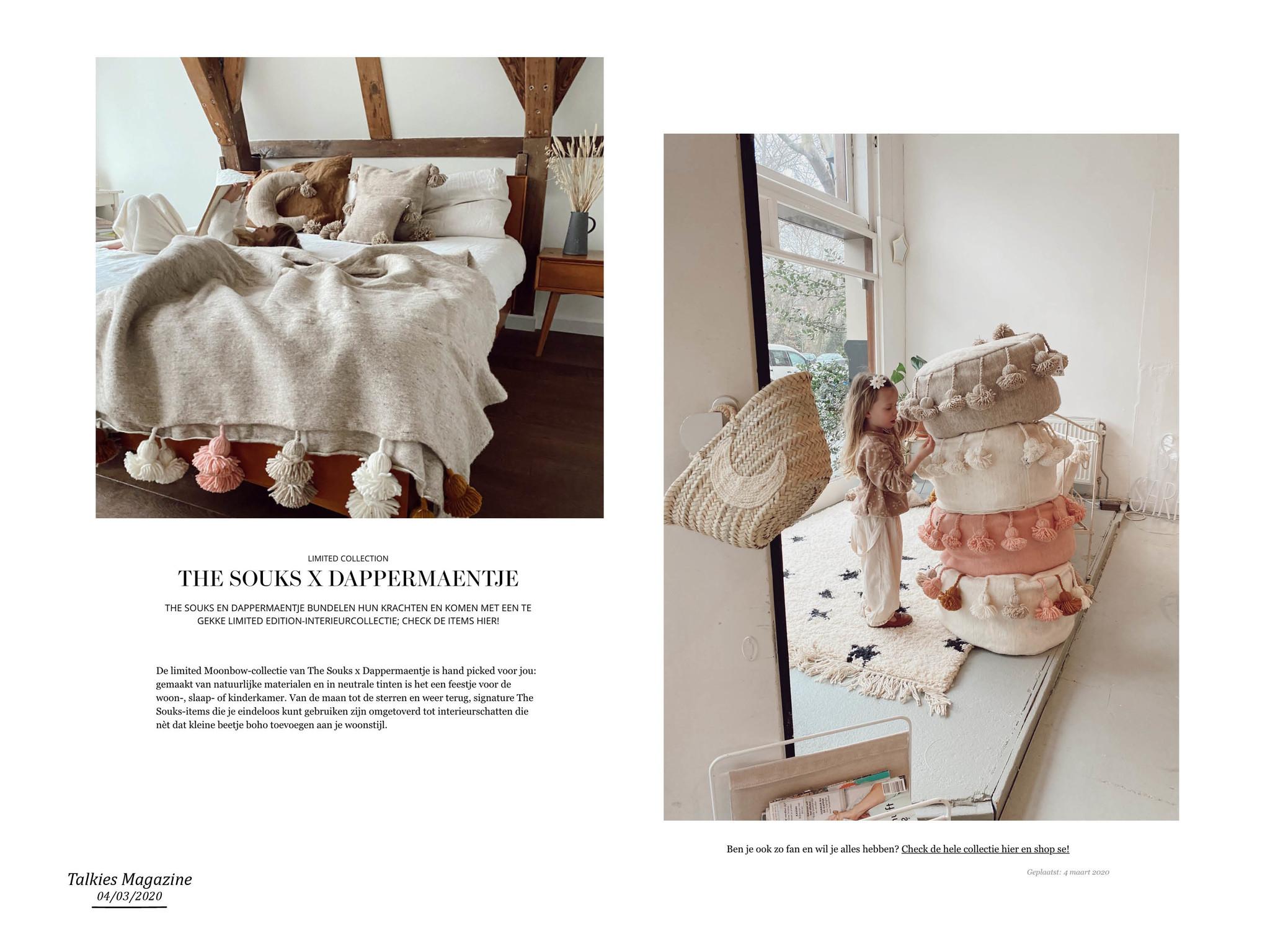 The Souks - publicatie Talkies magazine