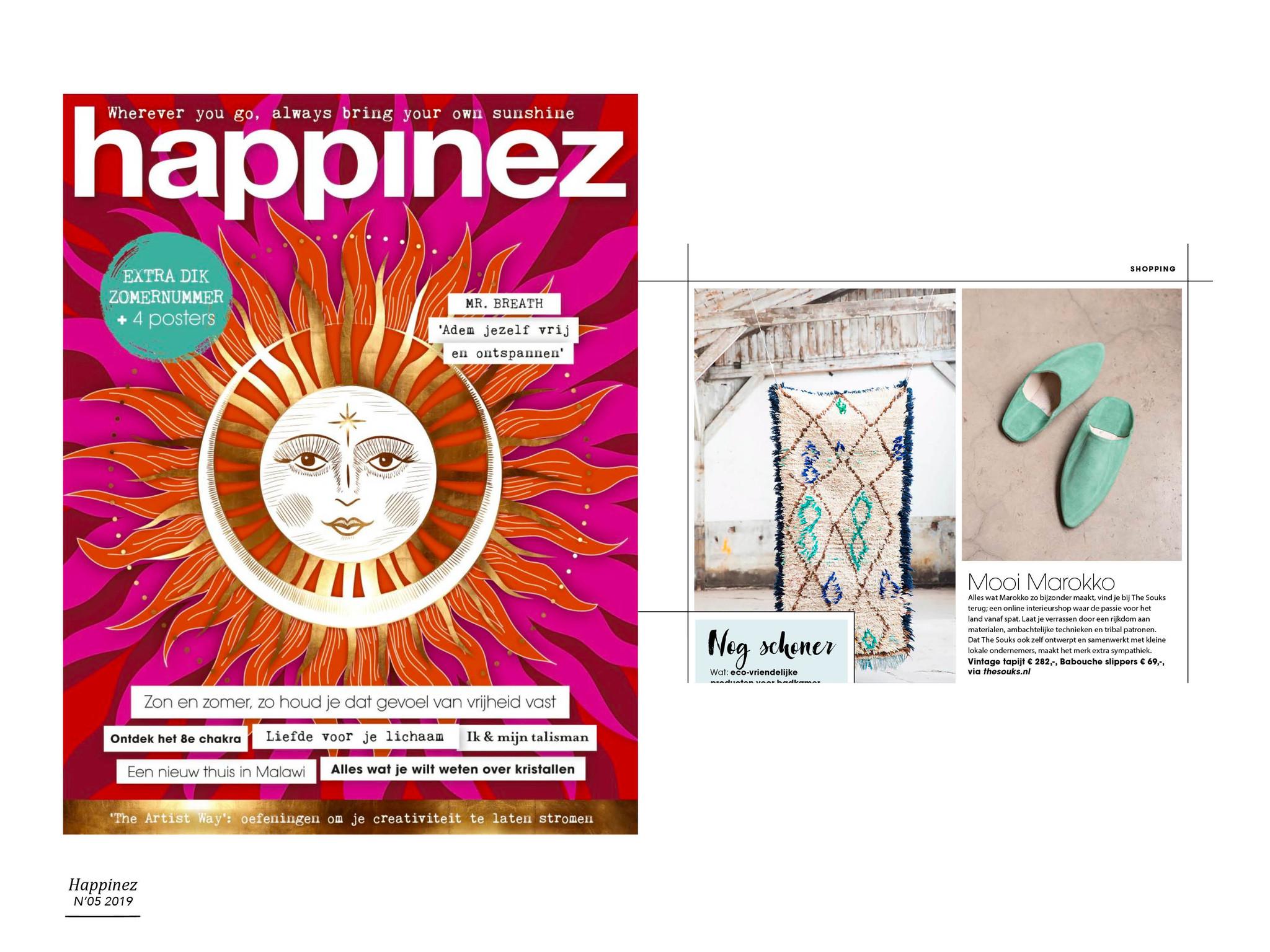 The Souks - publicatie Happinez