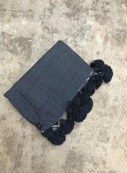 SAMPLE SALE - pompom blanket