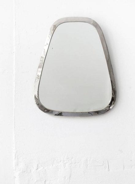 SAMPLE SALE - mirror cone M silver