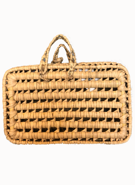 SAMPLE SALE - Reed basket - XS