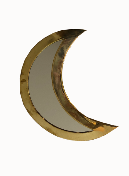 SAMPLE SALE - Moon mirror gold